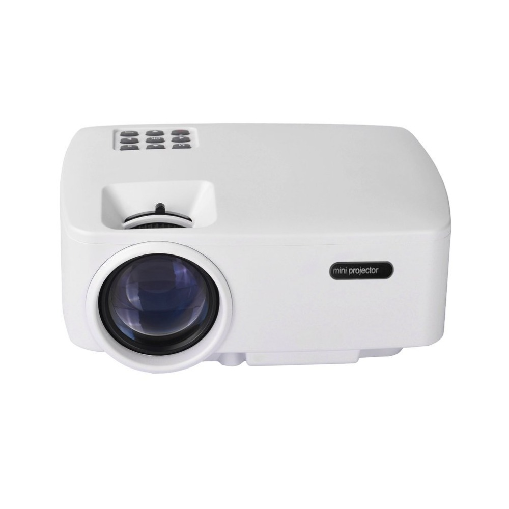 Mini Portable 1080P HD Projector Enjoyable Home Cinema Theater Home Entertainment Device Multimedia Player projector hd 1080p mini portable support tf card durable for home cinema theater new sl 88