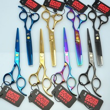 "5.5"" 16cm Japan Kasho Professional Hair Scissors Hairdressing Cutting Shears Thinning Scissors Salon Hair Styling Tools H1005"