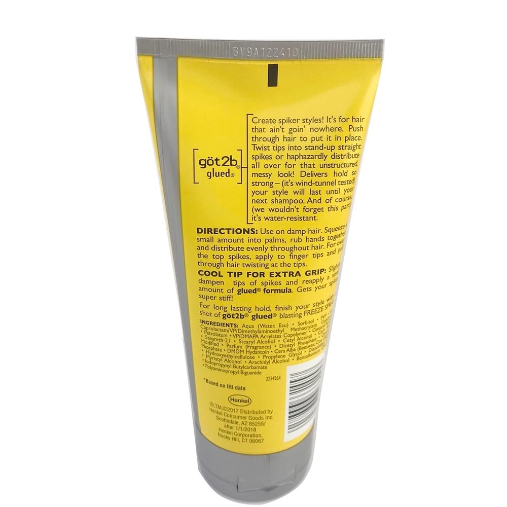 Hair Gel Hair Styling got2b Waterproof Hair Styling Products Hair Custom Shape Glued 150ml Makeup Stage Salon Hair Style