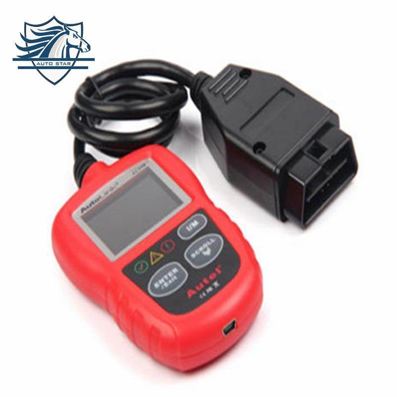 ФОТО Hot sale Original Autel AutoLink AL319 Next Generation OBD II/EOBD Code Reader by official website update Free Shipping