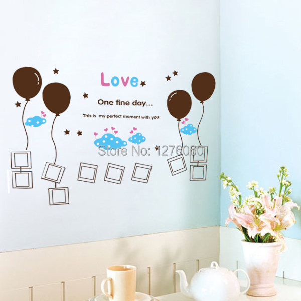 Freight discount personalized banksy floating balloons for Personalized home decor