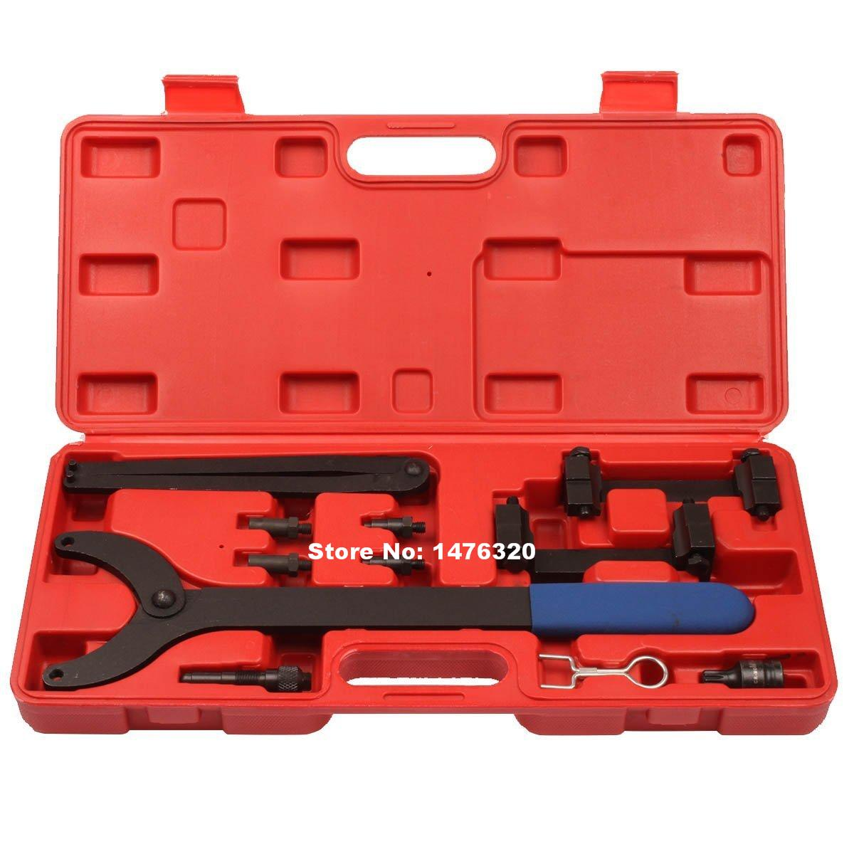 Automotive Engine Timing Camshaft Locking Alignment Tool Kit For VW Audi A4 A6 A8 3.2L V6 FSI AT2169 vag 1 8 2 0 tsi tfsi ea888 engine timing tool set for vw audi t10352 t40196 t40271 t10368 t10354