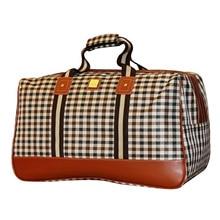 Neue 2016 Gepäck Reisetasche Mode Nylon Wasserdichte Reisetasche Große Kapazität Frauen Reisetaschen Größe 49*30*25 cm YA0402