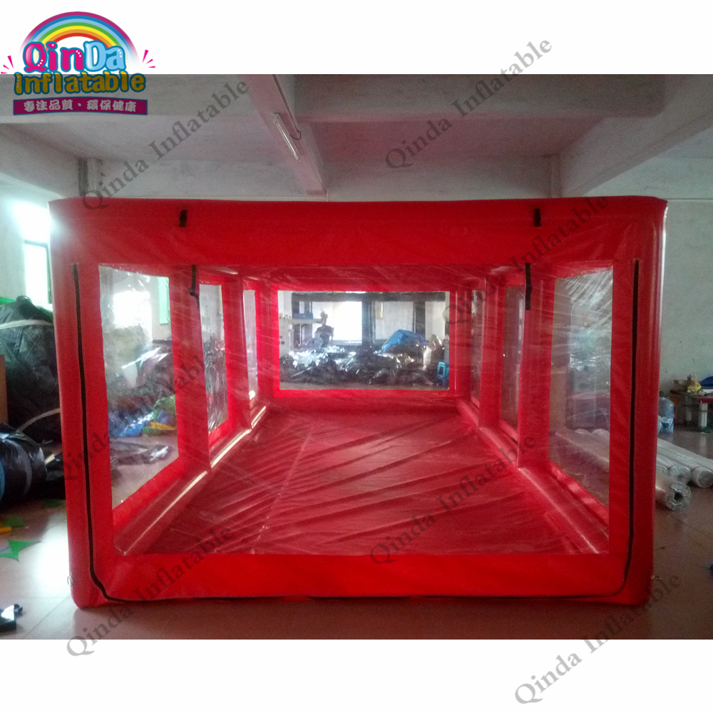 Air sealed inflatable <font><b>car</b></font> capsure showcase inflatable <font><b>car</b></font> <font><b>garage</b></font> <font><b>tent</b></font> for sale image