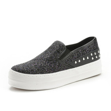 Women's Spring And Autumn New Listings Bottomed Sequins Rivets Flat Women Shoes A Pedal Lazy Casual Loafers  TL1608038