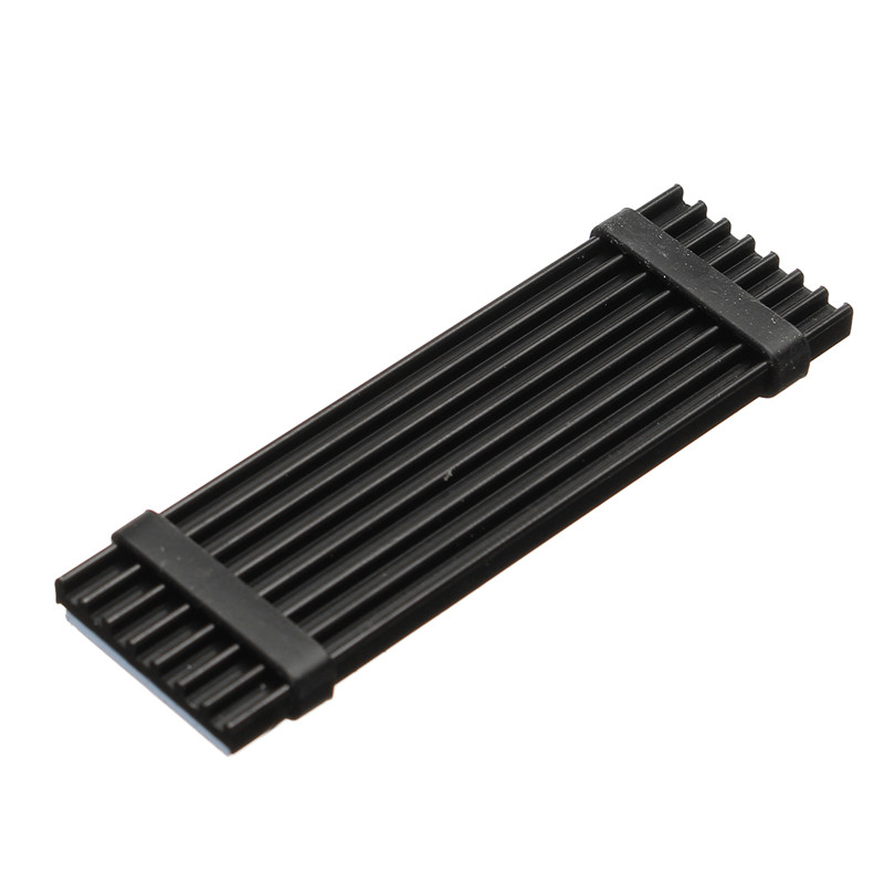 PC Memory Cooling Aluminum Black Heatsink for PCIe M.2 SSD with Thermal Pad