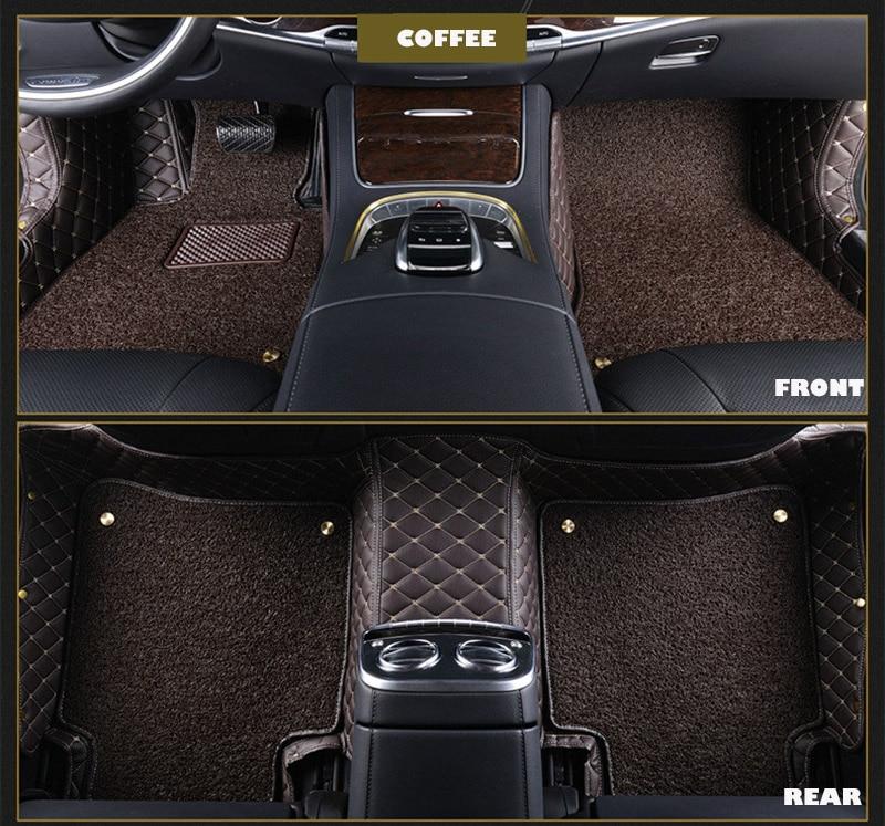 Custom fit автомобильные коврики для Audi A1 A3 A6 A7 A8 Q3 Q5 Q7 TT любую погоду ковер коврик для пола автомобильные аксессуары для укладки
