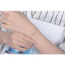 LUKENI Latest Antlers Silver Women Bracelets Jewelry Top Quality 925 Sterling Anklets Girl Christmas Lady Bijou