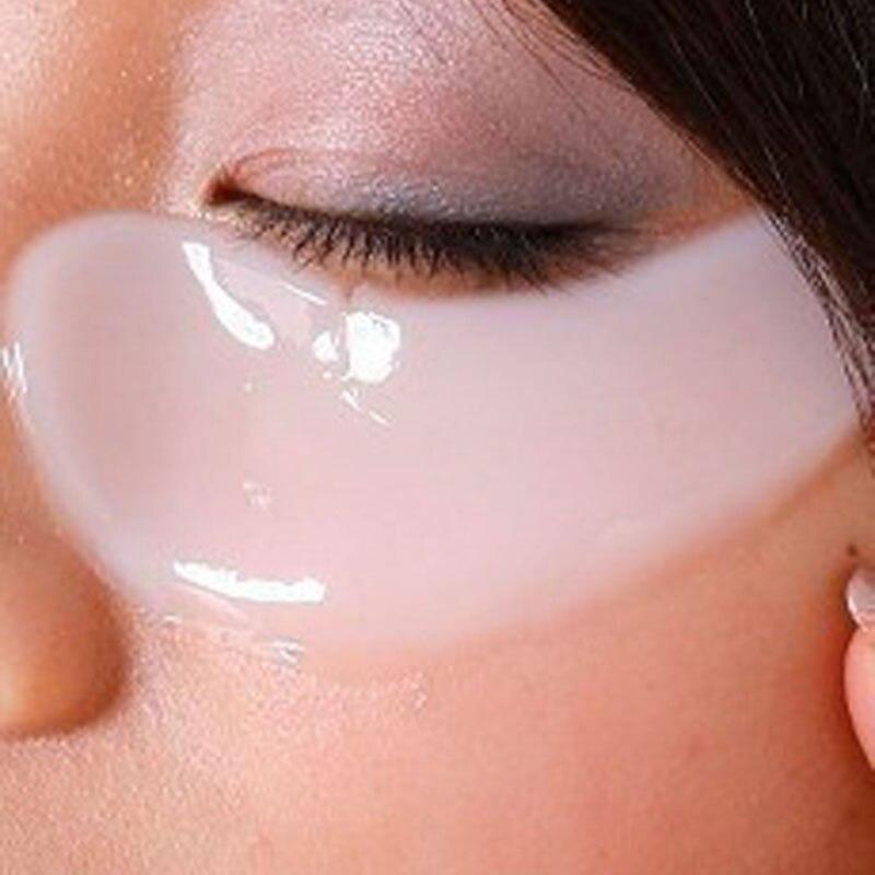 Baralho fora mulheres Crystal pálpebra Patch Anti rugas cristal colágeno máscara de olho remover Black Eye grátis frete