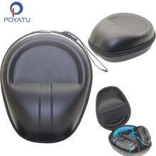 POYATU Headset Storage Hard Case for Logitech Gaming Headset G430 G930 G230 G231 G35 G933 Wireless Headphone Carrying Pouch Box
