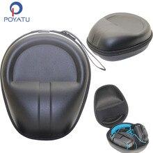 POYATU schowek na słuchawki twarda obudowa dla Logitech gamingowy zestaw słuchawkowy G430 G930 G230 G231 G35 G933 słuchawki bezprzewodowe sakiewka pudełko
