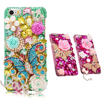 3D Bling Glitter Rhinestone Cover Luxury Girl Woman Lady Crystal Diamond Phone Case For Meizu M3