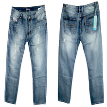 Fashion Men's Denim Jeans Casual Leisure Pants Blue Grey Boyfriend Skinny Jeans Men Cotton Slim Straight Long Trousers