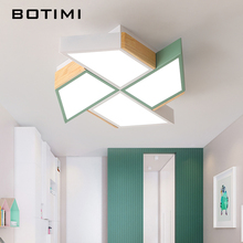 BOTIMI 220 فولت LED أضواء السقف في طاحونة شكل لغرفة المعيشة lamvillage دي تيكو غرفة نوم الأولاد غرفة السقف مصباح غرف lumare
