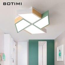 BOTIMI luces LED de techo de 220V con forma de molino de viento para sala de estar, lámparas de techo para dormitorio, habitación de niños, Luminare para habitaciones