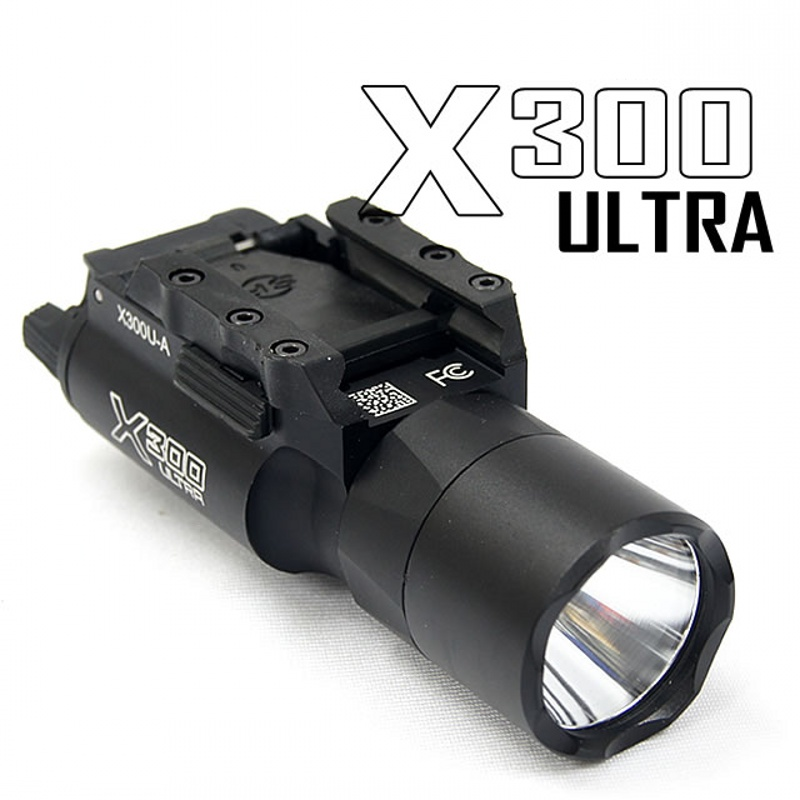 CQC Tactical SF X300 Ultra Pistol Gun Light X300U LED Weapon Flashlight Hunting Light стоимость