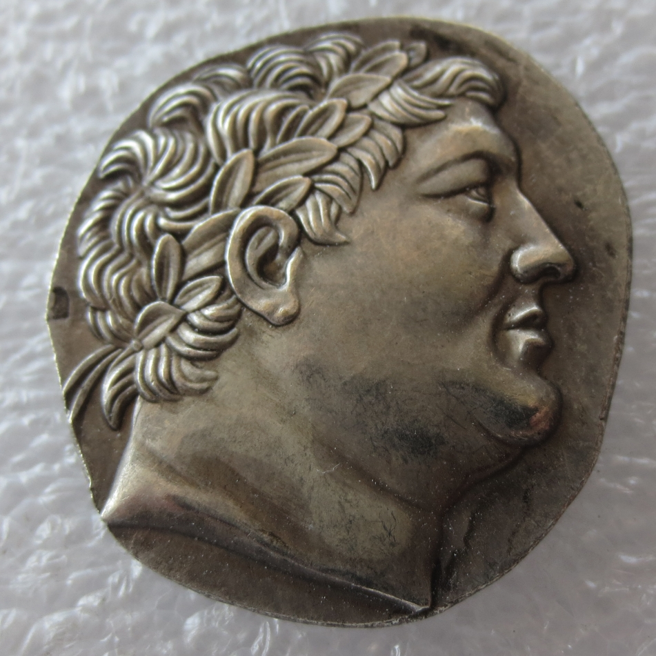 Type:# G(17) Superb Ancient Greek Silver Tetradrachm Coin of King Attalos of Pergamon - 241BC Copy Coins High Quality