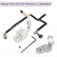 Repair Parts for DJI Phantom 3 Standard P3S Drone Yaw Roll Arm Gimbal Bracket Flat Ribbon Cable Flex Pitch Motor gimbal mounting