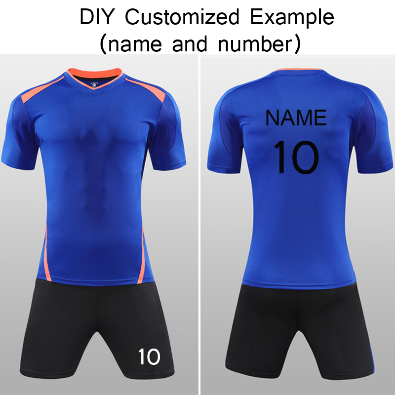 f845639a1 Onedoyee Men's Soccer Jerseys Set Custom Name Futbol Club Uniforms Football  Team Kit Suit Jersey Training Shirt Sports Tee-in Soccer Sets from Sports  ...