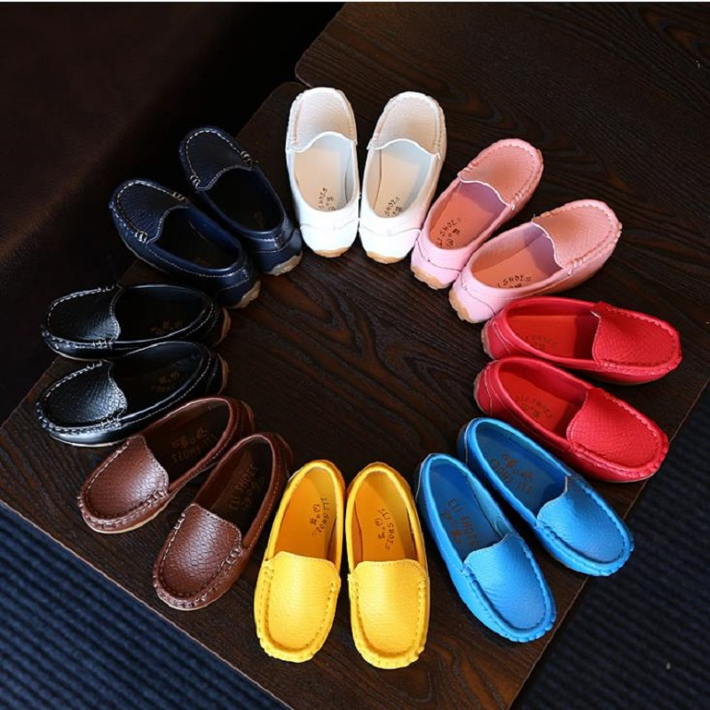NICBUY xin2018 Spring big Girl PU shoes Eur Super Quality Children Leatherwear Kids Shoes Leisure Shoes free shipping