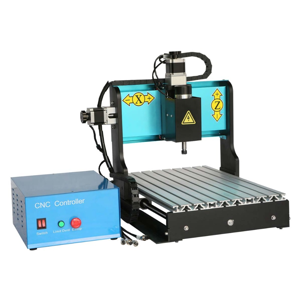 Free DHL JFT CNC3020 engraver 300W LPT port connection 3 Axis carving machine Working Area 300mm x 200mm metal nonmetal rings  jft high precision cnc router cutting machine 300w spindle motor 4 axis cnc engraver with lpt port 3020