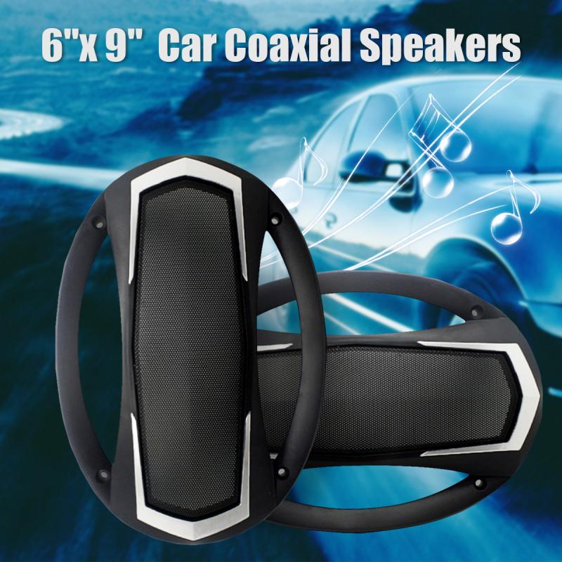2Pcs 6x9'' 500W 2 Way Car Coaxial Horn Hifi Loud Speaker Bass Auto Audio Tweeter Speakers VO-6995B Subwoofers Automobile Stereo auto door component speakers a pair 2 way 2x180w 6x9 inch universal coaxial car speakers car audio stereo speaker