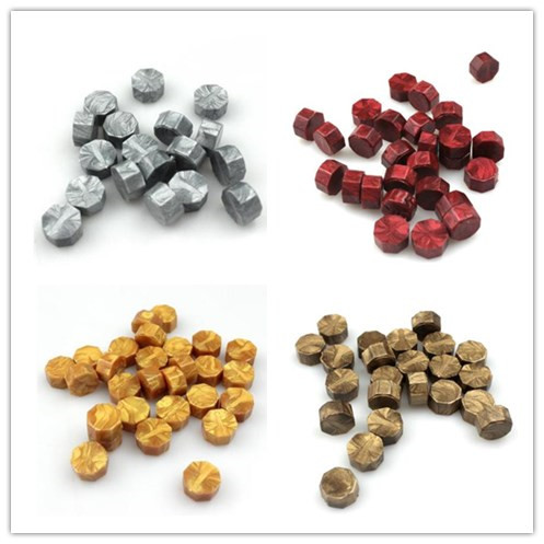 free shipping 100 PCS Multicolor Stamps Sealing Wax granule In bulk beads/strip Documents Stamp supplies wax seal tablet pills