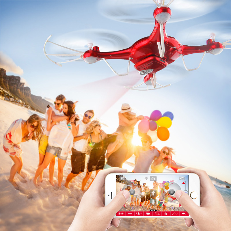 SYMA X5UW Drone with WiFi Camera HD 7P Real-time Transmission FPV Quadcopter 2.4G 4CH RC Helicopter Dron Quadrocopter Drones 14