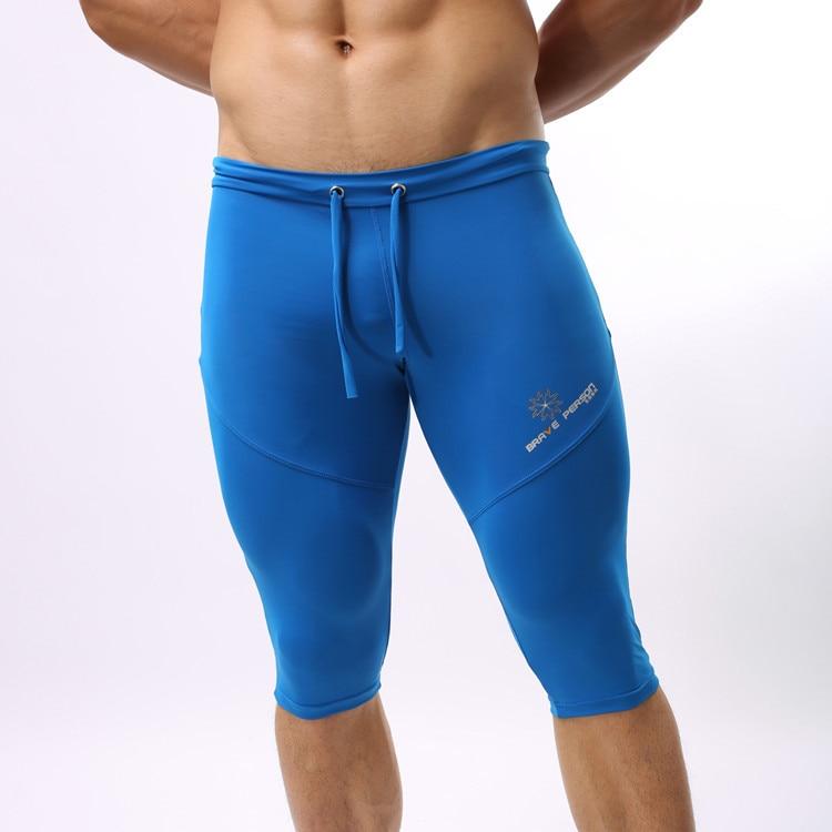 Sexy Men Compression Shorts Long Trunks Board Shorts Beachwear Swimsuit Male Bermuda Boardshorts Bathing Shorts Bath Suit Tights
