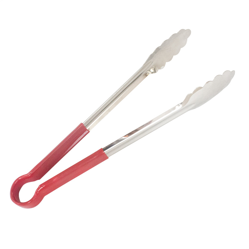 2 Tongs: New Arrival Non Magnetic Stainless Steel BBQ Tongs Salad