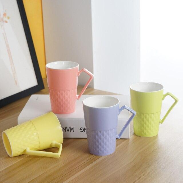 High Quality Cheap Ceramic Mug Cup Health Porcelain Water Tea Cappuccino Coffee Milk Mug Dinkware Tool