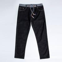 2017 New Plus Size 8XL 6XL 5XL 4XL Men S Jeans Black High Stretch Denim Brand