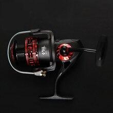 Exclusive Carbon Fiber Fishing Reel Metal Head Spinning Fishing Line Wheel Baitcasting Fishing Reel Sea Fishing Tackle JY4000