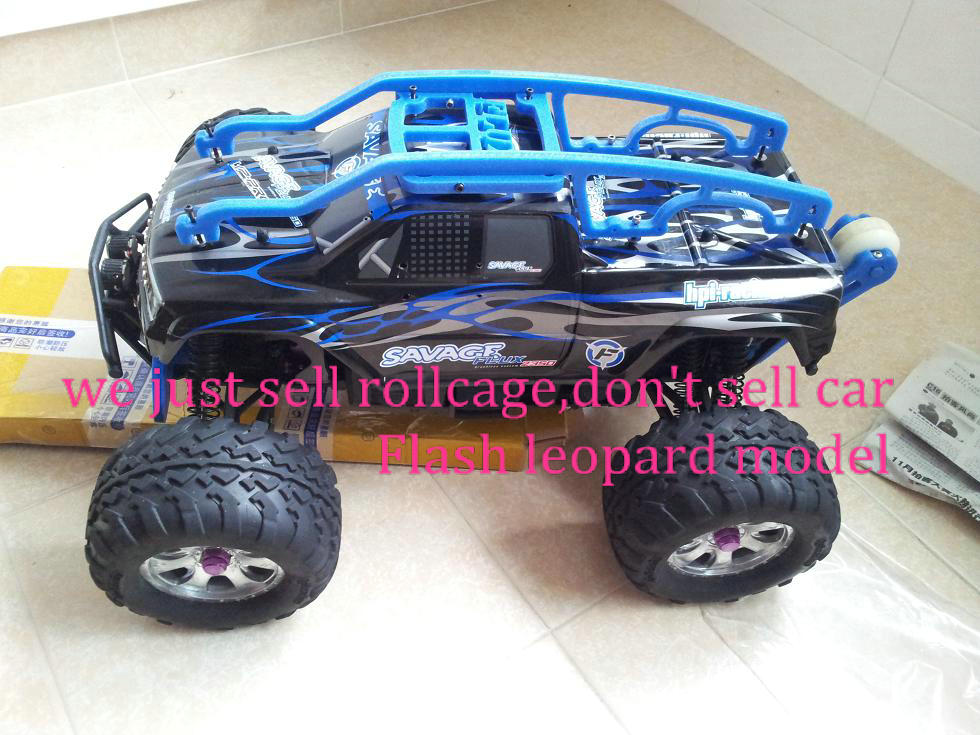 rc car Frame OP parts, HPI Savage Flux 1/8 RC Cars Roll cage (contain the wheelie bar) Anti-wear version hpi racing Frame rc car traxxas e revo car 1 10 shell version roll cage including wheelie bar rc cars hpi racing vehicles protection