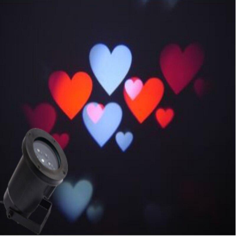 1x Новое поступление 2017 открытый благодарения свет проектора, День Святого Валентина проекторы, мини красочные новый год, IP65