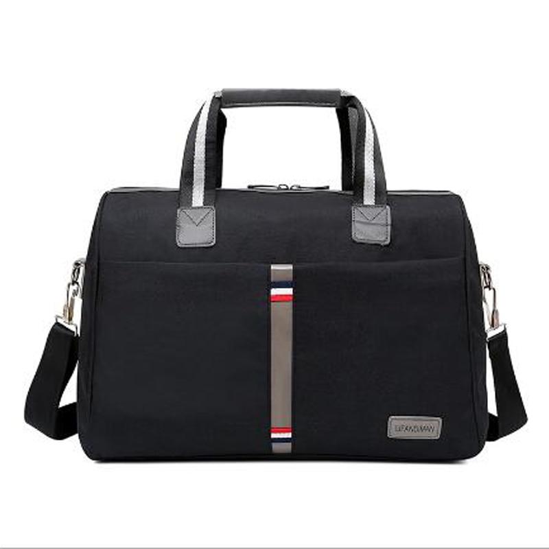 2018 Foldable portable shoulder bags Waterproof Men's Travel bag Travel luggage large capacity Travel Tote Women More color 4