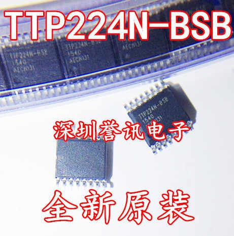 TTP224N-BSB патч четыре канала цифровая сенсорная кнопка 4-кнопочный сенсорный переключатель