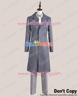 Japanese Anime Outfit Kamisama Kiss Cosplay Shinjiro Kurama Gray Trench Coat Costume H008