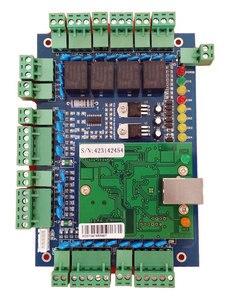 Image 2 - Tcp/ip dört kapı erişim kontrolü, ağ erişim kontrol panosu erişim sistemi/zaman katılım desteği RFID QR okuyucu sn:L04