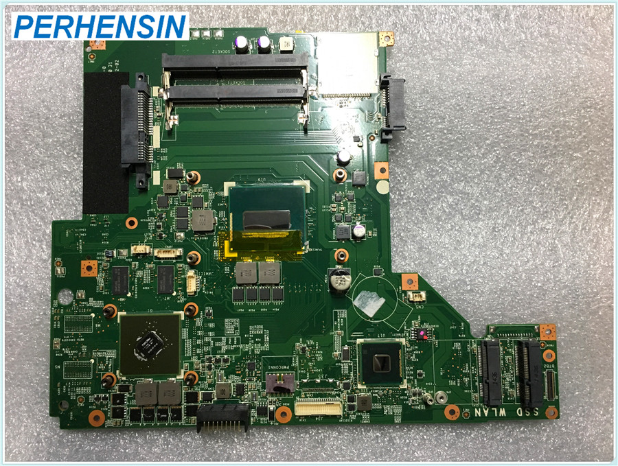 MS-175A1 For MSI GE70 GP70 CX70 Laptop Motherboard SR1Q0 I5 4210 N15S-<font><b>GT</b></font>-B-A2 <font><b>840M</b></font> MS-175A Ver 1.0 100% WORK PERFECTLY image