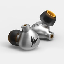 Best price 2017 Newest Whizzer A15 In-ear Monitor Dynamic Earphone HIFI Bass Copper Headset All-metal With MMCX