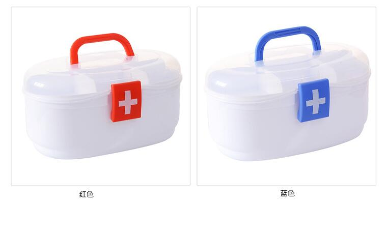 Multi-medicine box family children first aid kit medicine storage box medical box home small medical box цена