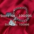 2014 Новый стиль омар сплав цинка девушки Sanrio сплава стразы привет китти браслет в с бантом для девушки любовь подарок H13