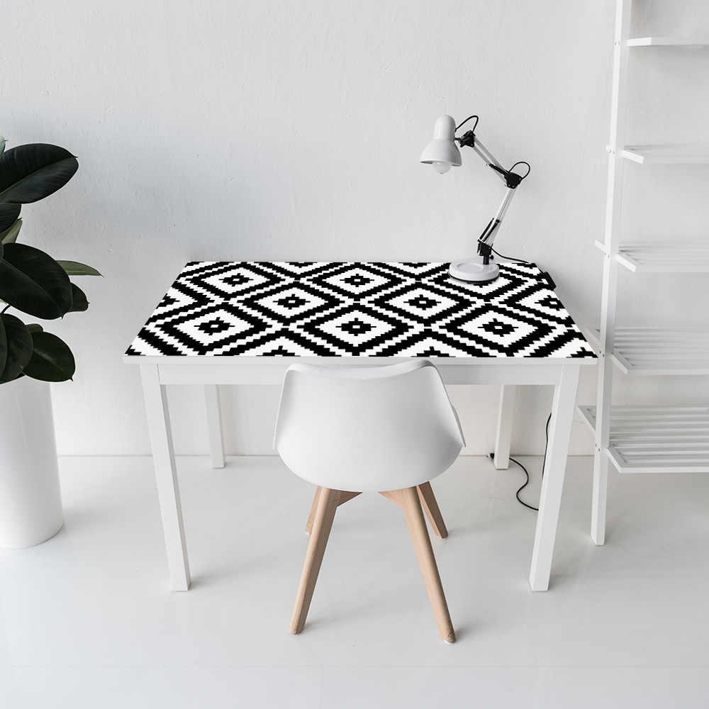 Funlife PVC Papel De Parede Adesivos Para Sala de estar, Mobiliário Adesivo Decalque, auto-Adesivo de Parede Nordic Art Home Decor Parede do Rolo de Papel