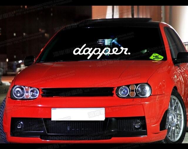 Hf hellaflush car sticker window stickers dapper illest car stickers