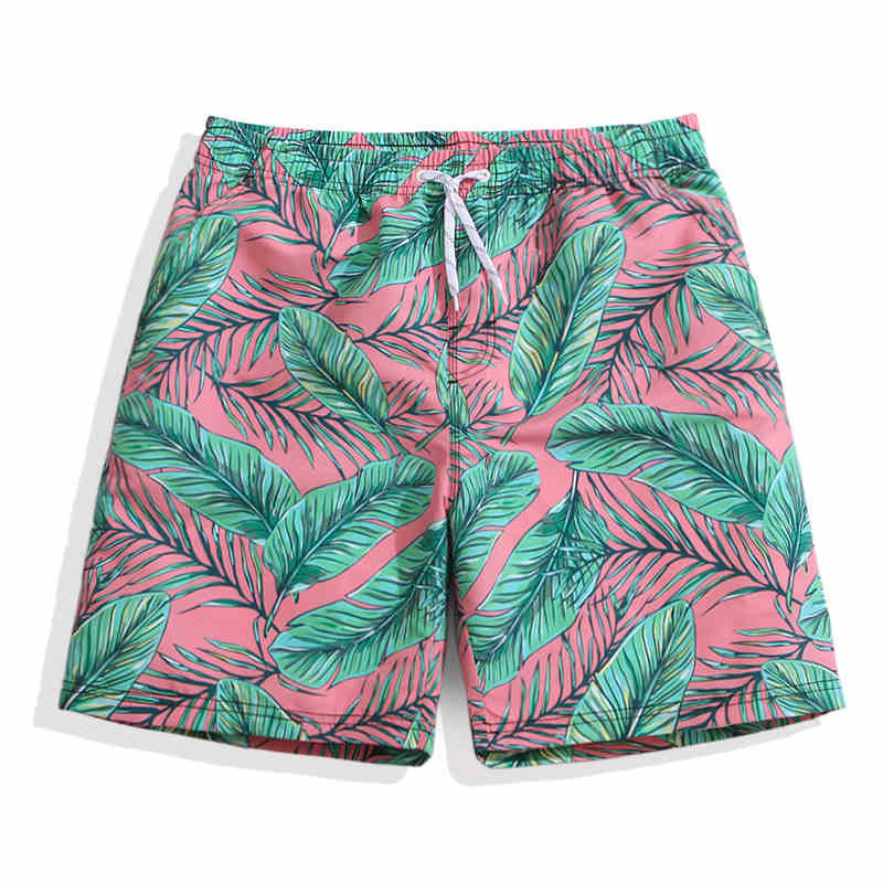 Swimwear Men Boardshort Surfing Swimming Quick Dry   Board     Shorts   Swim Sea Trunks Printed Summer Vacation Bermuda Surf Beachwear