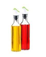 250 ML Glas Ölflasche Sauciere Glasflasche Olivenöl Flasche Sauce Flasche Küche Werkzeug