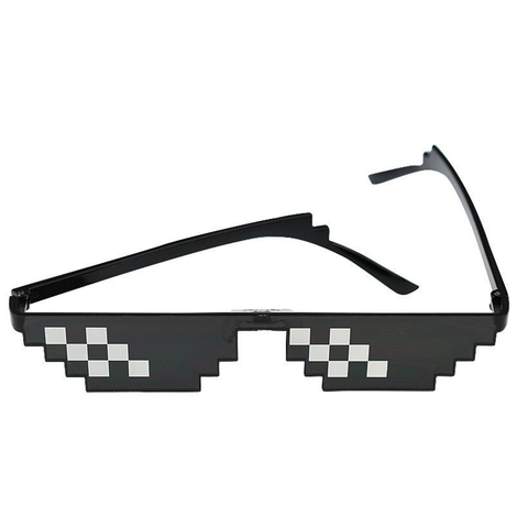 Deal With It Sunglasses Men sunglasses women Minecraft Polygonal Thug Life Shades Masculine  Bits Style Pixe Lahore