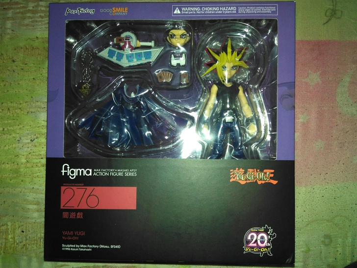 New arrival 15cm Yu Gi Oh Yami Yugi Figma 276 PVC Action Figure toy