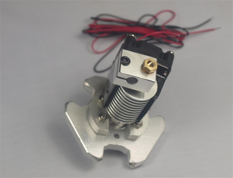 wholesale  3D printer Kossel Delta full metal hot end effector printer head Kit  for 1.75mm or 3mm filament